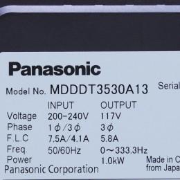 [중고] MDDDT3530A13 파나소닉 서보 드라이버