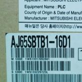 [신품] AJ65SBTB1-16D1 미쯔비시 씨씨링크