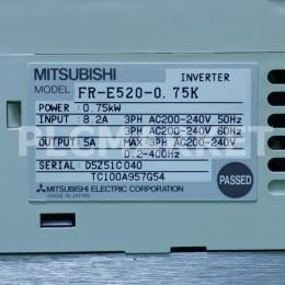 [중고] FR-E520-0.75K 미쯔비시 1마력 인버터