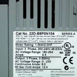 [중고] 22D-B8P0N104 AB 인버터