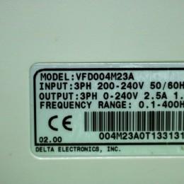 [중고] VFD004M23A 델타 0.4KW 1/2마력 인버터
