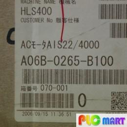 [신품] A06B-0265-B100 파낙 4.5KW 서보모터