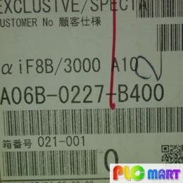 [신품] A06B-0227-B400 파낙 1.5KW서보모터