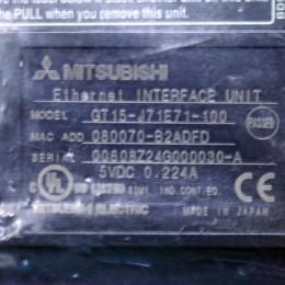 [미사용] GT15-J71E71-100 미쯔비시 이더넷카드