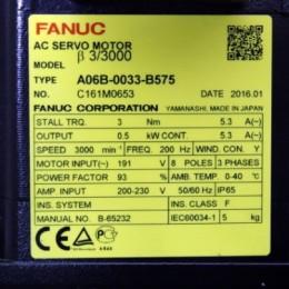 [미사용] A06B-0033-B575 화낙 서보모터