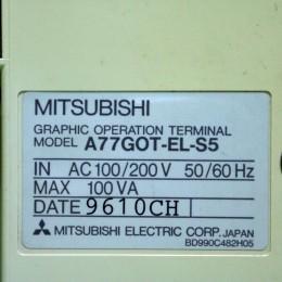 [중고] A77GOT-EL-S5 미쯔비씨 터치스크린