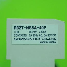 [중고] R32T-NS5A-40P 삼원액트 소형 릴레이터미널