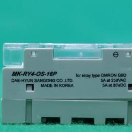 [중고] MK-RY4-OS-16P 대현 옴론 릴레이 단자대