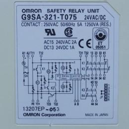 [중고] G9SA-321-T075  옴론 세이프티 릴레이 유닛