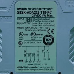 [중고] G9SX-ADA222-T15-RC 옴론 세이프티 유닛 24VDC