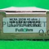 [신품] MCRA 200W 40ΩJ FullΩhm 회생저항기