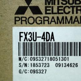[신품] FX3U-4DA 미쯔비시 피엘씨