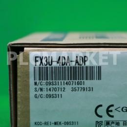 [신품] FX3U-4DA-ADP 미쯔비시 피엘씨