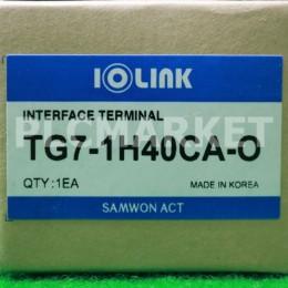 [신품] TG7-1H40CA-O 삼원 아이오링크 인터페이스 단자대
