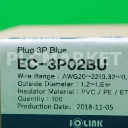 [신품] EC-3P02BU 삼원 아이오링크 플러그 콘넥터