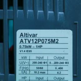 [중고] ATV12P075M2 슈나이더 가변 속도 드라이브