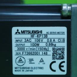 [미사용] HF-KP13B 감속기 포함 미쯔비시 서보모터 AE050감속기 일체형(감속비 10 : 1)