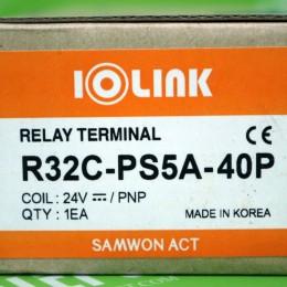 [신품] R32C-PS5A-40P 삼원 소형릴레이 터미널