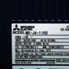 [중고] MR-J4-11KB + DBU-11K + HG-JR11K1MB + MR-ENECBL2M-L-MTH/IP20 + PWCNS3-2LS-160
