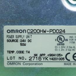 [중고] C200HW-PD024 옴론 PLC 모듈