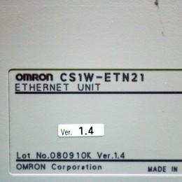 [중고] CS1W-ETN21 옴론 이더넷 유닛