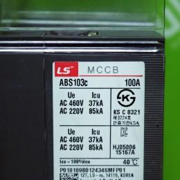 [중고] ABS103C 100A 엘에스산전 (LS IS) 배선용차단기 ABS시리즈