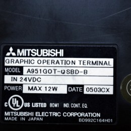 [중고] A951GOT-QSBD-B 미쯔비시 GOT-A900 시리즈 터치스크린
