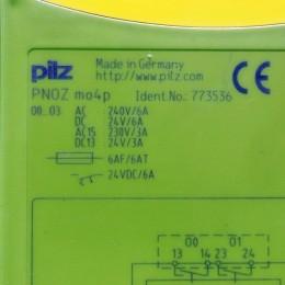 [중고] PN0Z mo4p pilz 세이프티 릴레이
