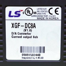 [중고] XGF-DC8A 엘에스 아날로그 출력카드 PLC
