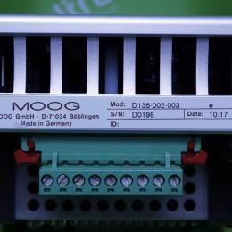 [중고] D136-002-003 MOOG 모션컨트롤러
