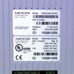 [중고] G394-059-100-001 MOOG 서보 드라이브