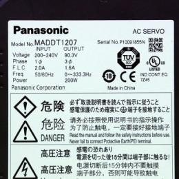 [중고] MADDT1207 파나소닉 서보드라이버 200W