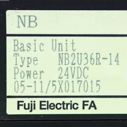 [중고] NB2U36R-14 후지 Basic Unit 24VDC