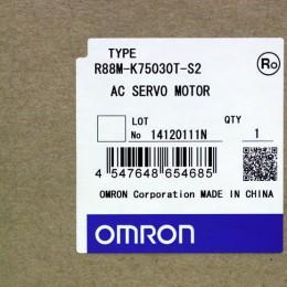 [미사용] R88M-K75030T-S2 옴론 AC 서보 모터