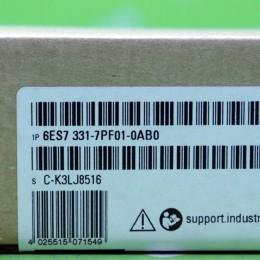 [신품] 6ES7 331-7PF01-0AB0 SIEMENS PLC