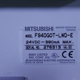[중고] F940GOT-LWD-E 미쯔비시 터치스크린 - 잔상 있음