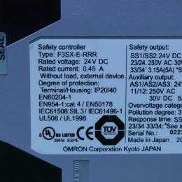 [중고] F3SX-E-RRR 옴론 세이프티 컨트롤러