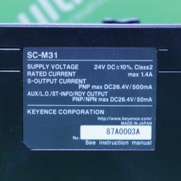 [중고] SC-M31 키엔스 세이프티 컨트롤러