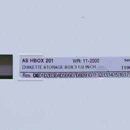 [중고] AS-HBOX-201 슈나이더 DISKETTE STORAGE