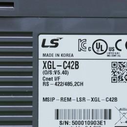 [중고] XGL-C42B LS산전 (엘에스) PLC 통신모듈 Network/Computer Link