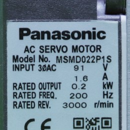 [중고] MSMD022P1S 파나소닉 200W 서보모터