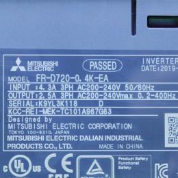 [중고] FR-D720-0.4K-EA 미쯔비시 200W 인버터