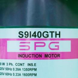 [신품] S9I40GTH SPG(에스피지) 40W 인덕션 모터 (통상납기 : 2주)