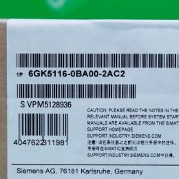[신품] 6GK5 116-0BA00-2AC2 지멘스 IE Switch