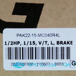 [신품] PAK22-15-MC040R4L SPG 에스피지 기어드 모터 (납기 : 전화문의)