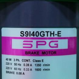 [신품] S9I40GTH-E SPG(에스피지) 40W 인덕션모터 (납기 : 전화문의)