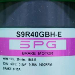 [신품] S9R40GBH-E SPG(에스피지) 40W 단상 브레이크 모터 (납기 : 전화문의)