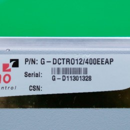 [중고] G-DCTRO 12/400 EEAP Elmo 서보드라이브