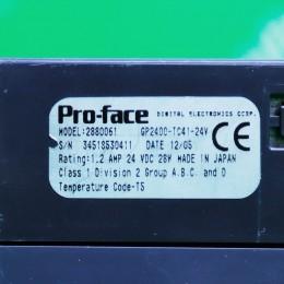 [중고] GP2400-TC41-24V 프로페이스 터치스크린 (정상작동, 모서리 파손)