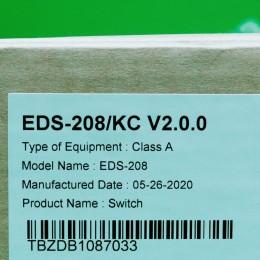 [신품] EDS-208 MOXA 산업용 8포트 스위치 허브